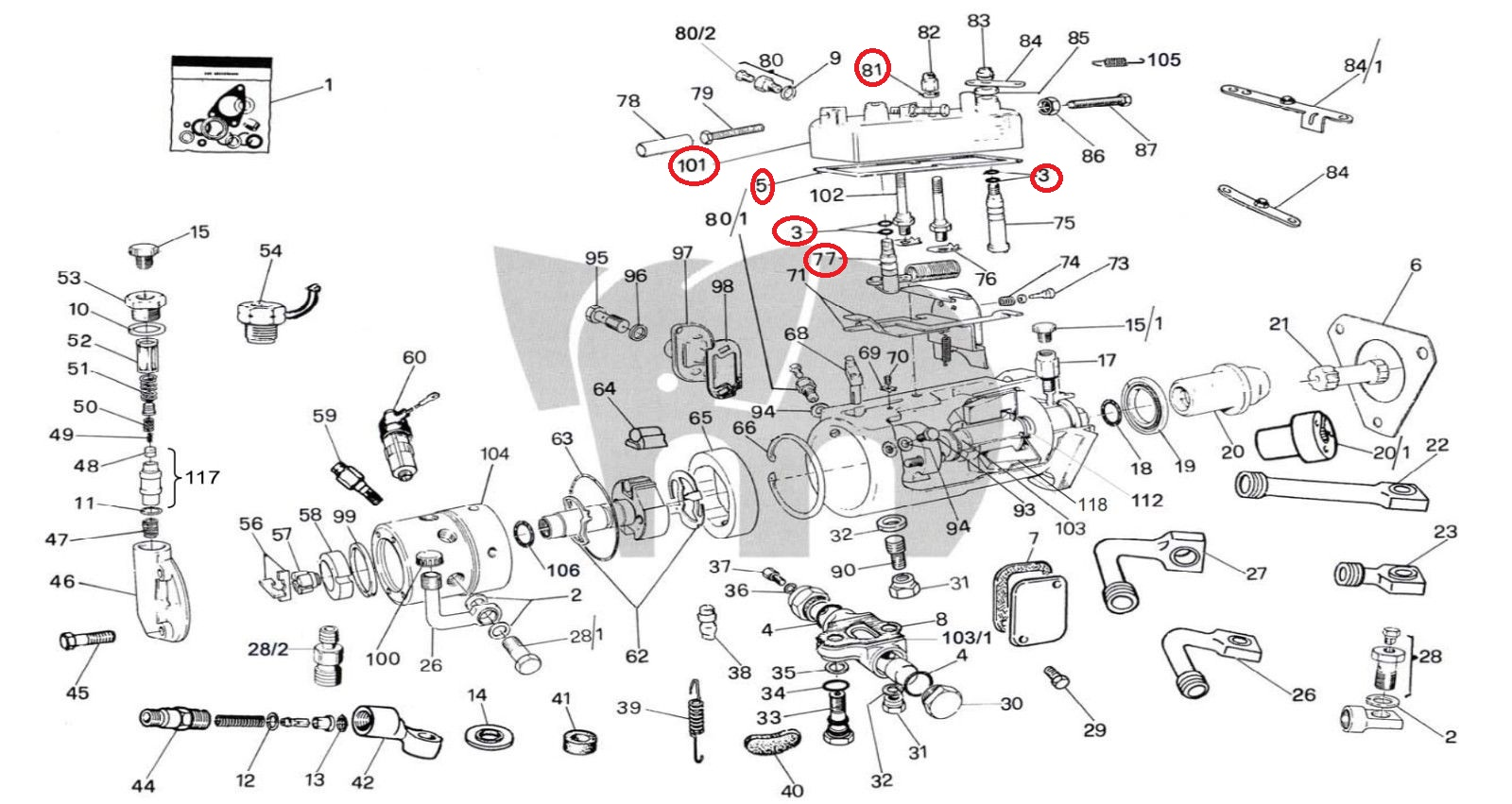 Perkins diesel injector pump service manual array diesel injection pump cover repair kit fits cav lucas delphi rh dieselspareparts co ccuart Images