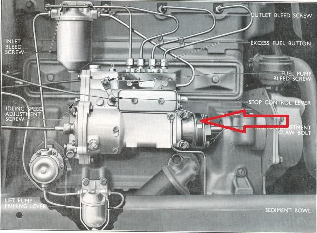 perkins p6 p4 p3 fuel pump fibre coupling disc fordson