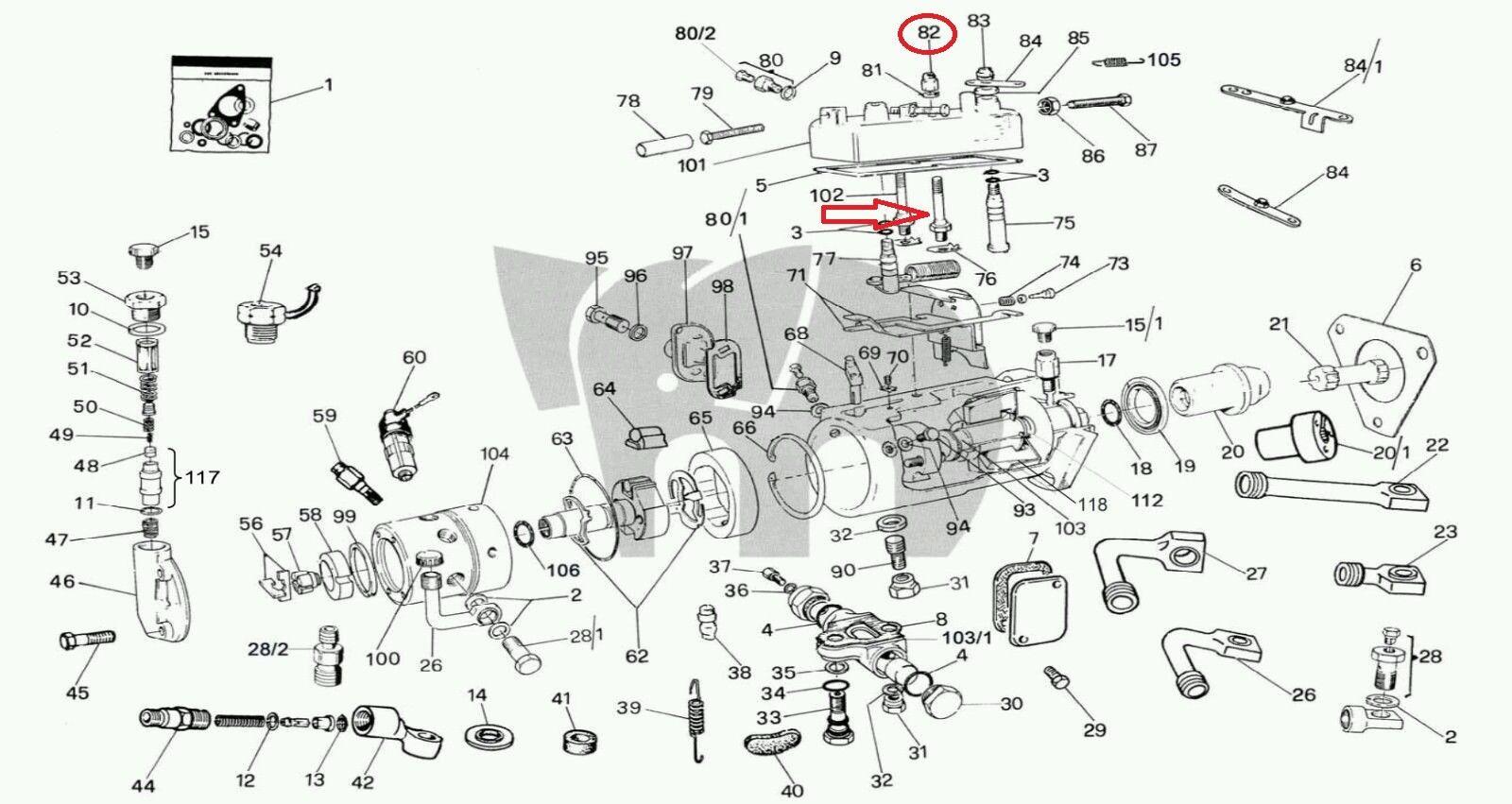 4 cav fuel pump parts diagram trusted wiring diagrams